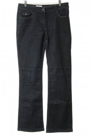 Cecil Boot Cut Jeans dark blue second hand look