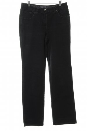 Cecil Boot Cut Jeans schwarz Casual-Look