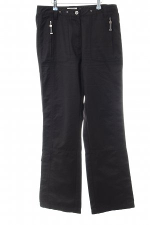 Cecil Boyfriend Trousers black casual look