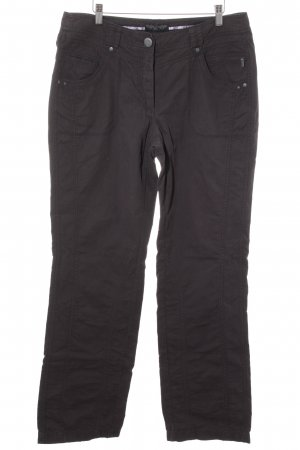 Cecil Boyfriend Trousers anthracite casual look
