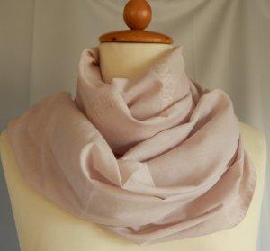 Cecil, breiter Loop-Schal, oil-wash Effekt, rosé, Baumwolle-Viskose