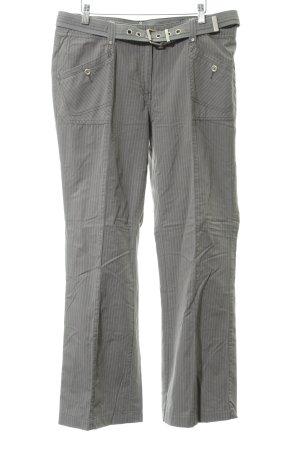 Cecil Pantalone a pieghe gessato stile casual