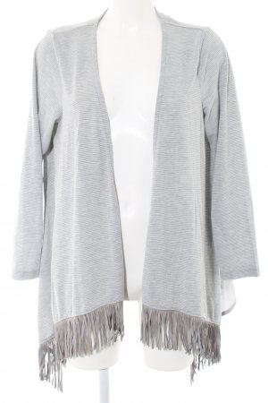Cecil Cardigan light grey flecked business style