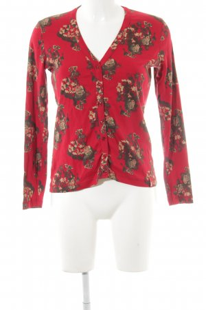 Cecil Cardigan rot florales Muster Casual-Look