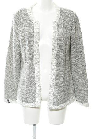 Cecil Cardigan bianco sporco-nero modello web stile casual