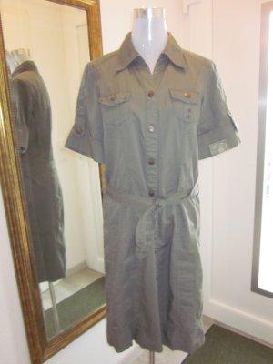 Cecil Cargo Kleid Khaki Olive Gr M