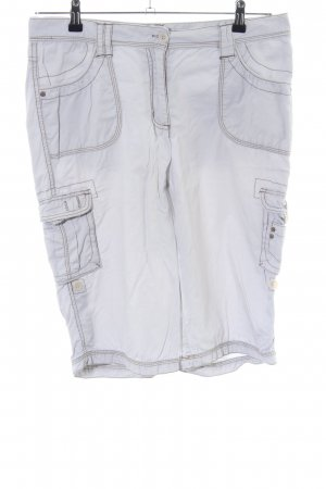 Cecil Cargo Pants light grey casual look