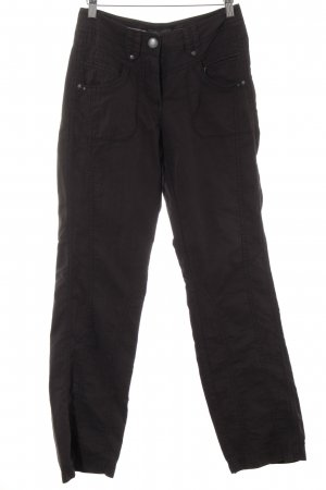 Cecil Cargo Pants anthracite-dark grey casual look
