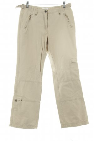 Cecil Cargo Pants beige casual look