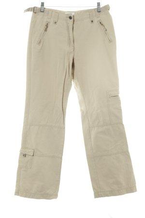 Cecil Pantalon cargo beige style décontracté