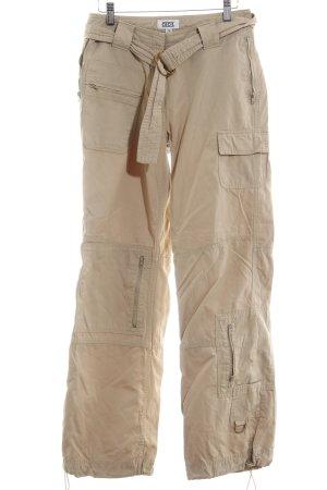 Cecil Pantalone cargo beige-beige chiaro stile casual