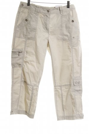 Cecil Cargo Pants oatmeal casual look