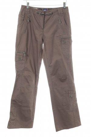 Cecil Cargo Pants light brown casual look