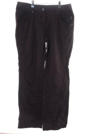 Cecil Cargo Pants black casual look