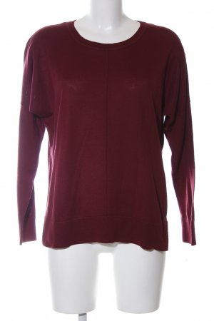 Cecil Cashmerepullover rot Casual-Look