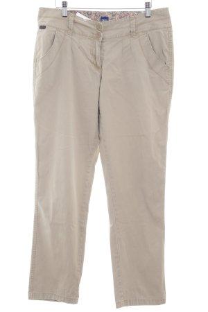 Cecil Pantalone chino beige chiaro stile casual