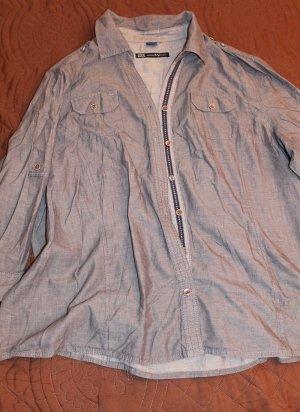 CECIL Damen Hemd Bluse Grau Gr.  XL CECIL