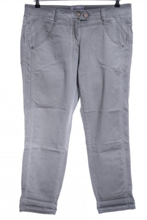 Cecil Five-Pocket Trousers light grey casual look
