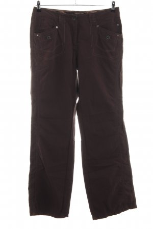 Cecil Pantalón de cinco bolsillos marrón look casual