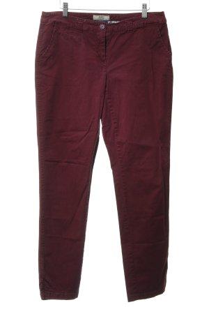 Cecil Pantalone cinque tasche viola stile casual