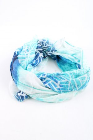 Cecil Neckerchief blue abstract pattern casual look