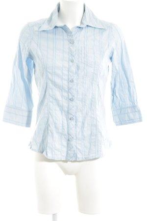 Cecil Hemd-Bluse blau-weiß Streifenmuster Casual-Look