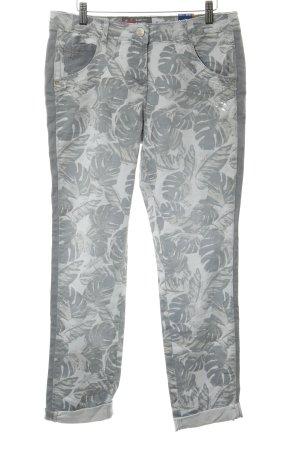 Cecil High Waist Jeans hellgrau Casual-Look