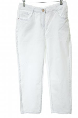 Cecil Jeans a vita alta bianco stile casual