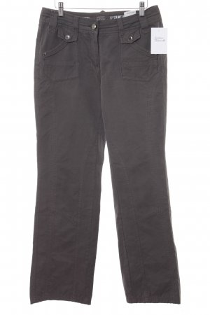 Cecil Pantalons Houlihan gris anthracite style boyfriend