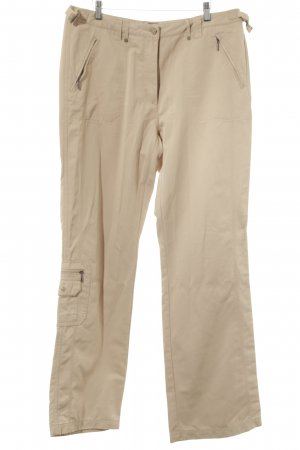 Cecil Low-Rise Trousers beige casual look