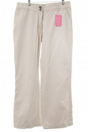 Cecil Low-Rise Trousers cream athletic style