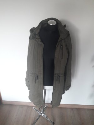 Cecil Between-Seasons Jacket green grey