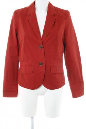 Cecil Denim Blazer brick red casual look