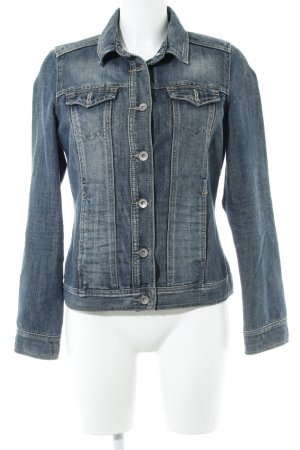 Cecil Jeansjacke graublau Casual-Look