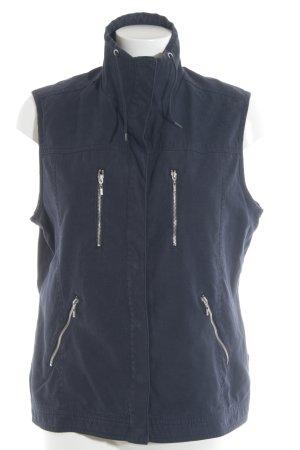 Cecil Gilet en jean bleu foncé style athlétique