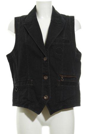 Cecil Smanicato jeans nero stile casual