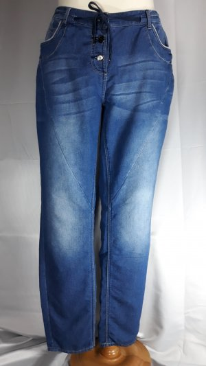 Cecil,Joggpant im Jeansstile,weiches Webmaterial,Verwaschung,Jeans Gr 30