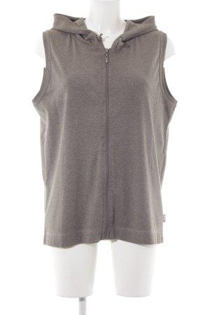 Cecil Giacca con cappuccio marrone-grigio-marrone chiaro stile casual