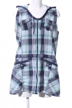 Cecil Hooded Dress blue allover print casual look