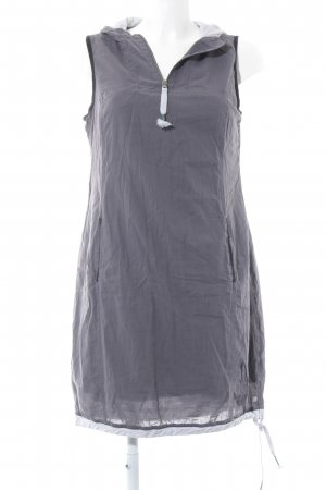 Cecil Hooded Dress grey casual look