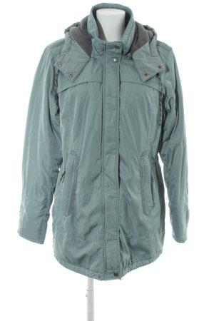 Cecil Manteau à capuche gris vert style décontracté