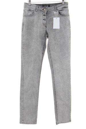 Cecil Jeans carotte gris clair style décontracté