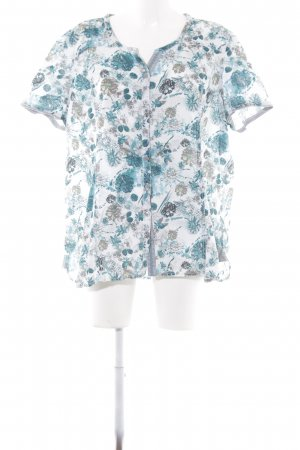 Cecil Kurzarm-Bluse florales Muster Casual-Look