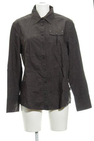 Cecil Camicia a maniche lunghe grigio scuro-antracite motivo paisley