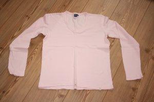 CECIL Langarmshirt / V-Ausschnitt / Rosa / Pastell / Gr. M / T-Shirt