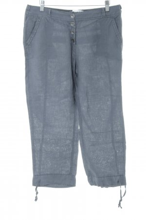 Cecil Pantalone di lino grigio ardesia stile casual