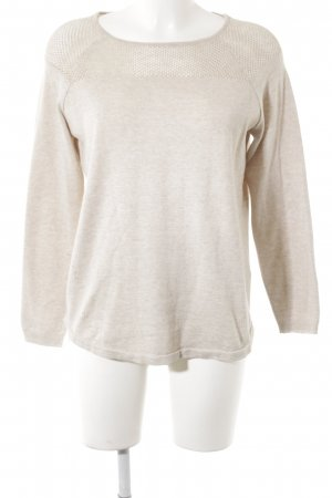 Cecil Longpullover hellbeige Casual-Look