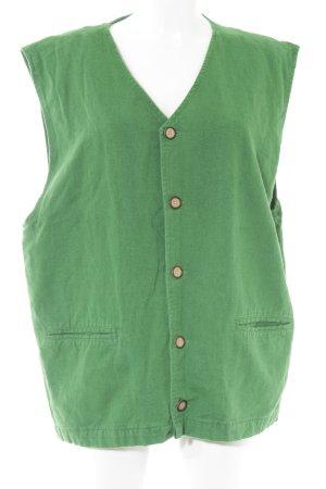 Cecil Chaleco de punto largo verde look casual
