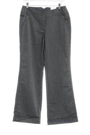 Cecil Pantalone Marlene grigio-grigio scuro spina di pesce stile casual