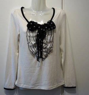 Cecil McBee Japan Shirt Longsleeve Gr. S Rüschen Schluppe Gyaru Mori Girl